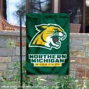Northern Michigan Wildcats Garden Flag