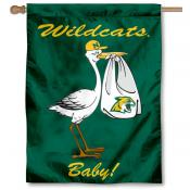 Northern Michigan Wildcats New Baby Flag