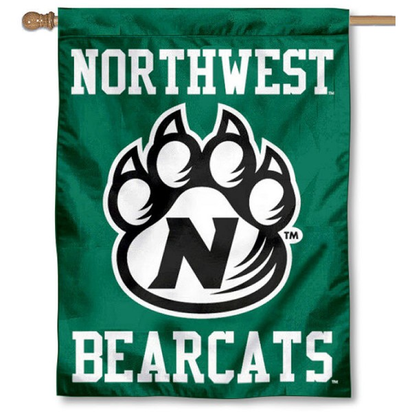 Northwest Bearcats House Flag is a vertical house flag which measures 30x40 inches, is made of 2 ply 100% polyester, offers dye sublimated NCAA team insignias, and has a top pole sleeve to hang vertically. Our Northwest Bearcats House Flag is officially licensed by the selected university and the NCAA.