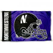 Northwestern College Football Flag