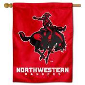 Northwestern Oklahoma State Rangers Double Sided House Flag