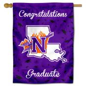 Northwestern State Demons Congratulations Graduate Flag