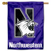 Northwestern University Decorative Flag