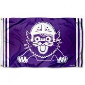 Northwestern Wildcats Throwback Vault Logo Flag
