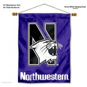 Northwestern Wildcats Wall Banner
