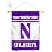 Northwestern Wildcats Window and Wall Banner