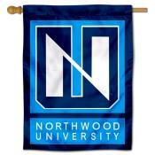 Northwood Timberwolves Double Sided House Flag