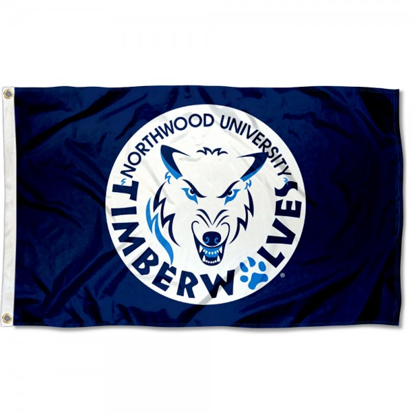 Northwood Timberwolves Flag measures 3x5 feet, is made of 100% polyester, offers quadruple stitched flyends, has two metal grommets, and offers screen printed NCAA team logos and insignias. Our Northwood Timberwolves Flag is officially licensed by the selected university and NCAA.