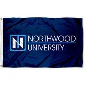 Northwood Timberwolves Wordmark Logo Flag