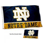 Notre Dame Fighting Irish Double Sided Flag