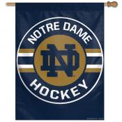 Notre Dame Fighting Irish Hockey House Flag