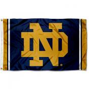 Notre Dame Fighting Irish New Logo Flag