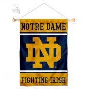 Notre Dame Window and Wall Banner