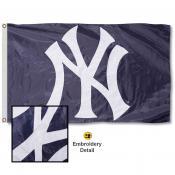 NY Yankees Embroidered Nylon Flag