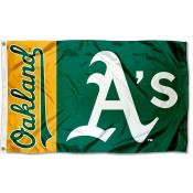 Oakland A's Outdoor Flag