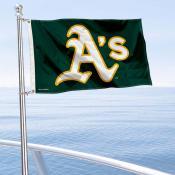 Oakland Athletics Boat and Nautical Flag