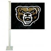 Oakland Grizzlies Car Flag