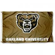 Oakland Grizzlies Gold Flag