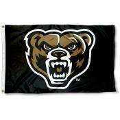 Oakland Grizzlies Logo Flag
