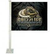 Oakland University Car Window Flag