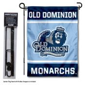 ODU Monarchs Garden Flag and Pole Stand Holder