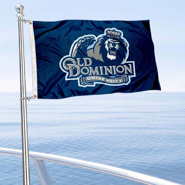 ODU Monarchs Golf Cart Flag is a small 12x18 inches, made of 2-ply polyester with quad stitched flyends, and is double-sided. Our Golf Cart Logo Flags are Officially Licensed and Approved by ODU Monarchs and NCAA.