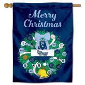 ODU Monarchs Happy Holidays Banner Flag