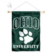 Ohio Bobcats Banner with Suction Cup