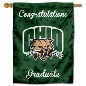 Ohio Bobcats Congratulations Graduate Flag