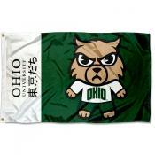 Ohio Bobcats Kawaii Tokyodachi Yuru Kyara Flag