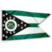 Ohio Bobcats State of Ohio Flag