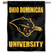 Ohio Dominican Panthers Double Sided House Flag