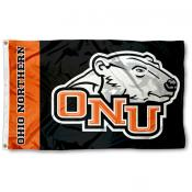 Ohio Northern 3x5 Flag