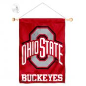 Ohio State Buckeyes Banner with Suction Cup