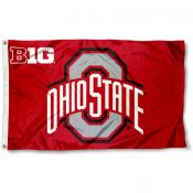 Ohio State Buckeyes Big 10 Flag