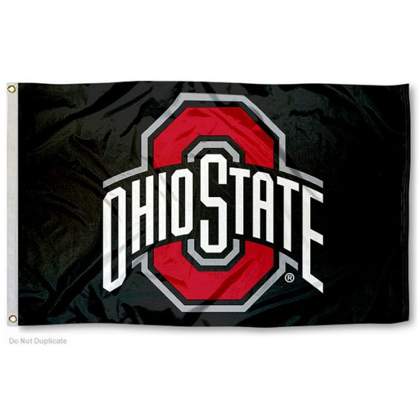 Ohio State Buckeyes Black Flag measures 3x5 feet, is made of 100% polyester, offers quadruple stitched flyends, has two metal grommets, and offers screen printed NCAA team logos and insignias. Our Ohio State Buckeyes Black Flag is officially licensed by the selected university and NCAA.