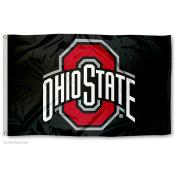 Ohio State Buckeyes Black Flag