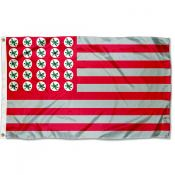 Ohio State Buckeyes Buckeye Leaf Nation Flag