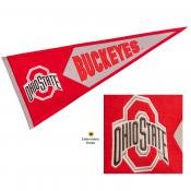 Ohio State Buckeyes Genuine Wool Pennant