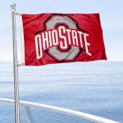 Ohio State Buckeyes Golf Cart Flag