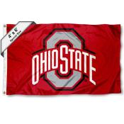 Ohio State Buckeyes Large 4x6 Flag