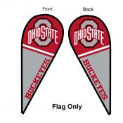 Ohio State University Feather Flag