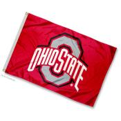 Ohio State University Mini Flag