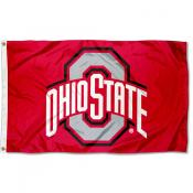 Ohio State University Nylon Flag