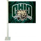 Ohio University Car Window Flag