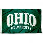 Ohio University Logo Flag