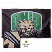 Ohio University Nylon Embroidered Flag