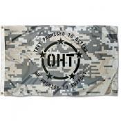 OHT Operation Hat Trick Camo Flag