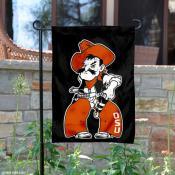 OK State Cowboys Pistol Pete Garden Flag