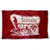 Oklahoma Sooner Schooner Flag
